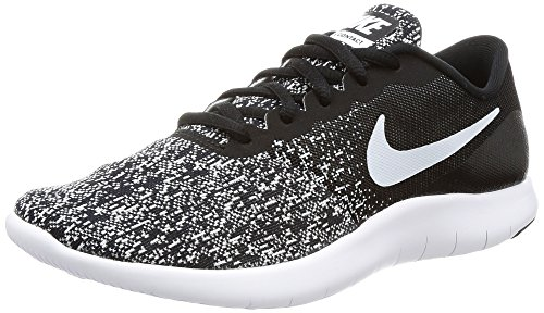 002 black White Negro De Mujer Zapatillas Nike Wmns Para Contact Flex Running RzxPxCnqZw