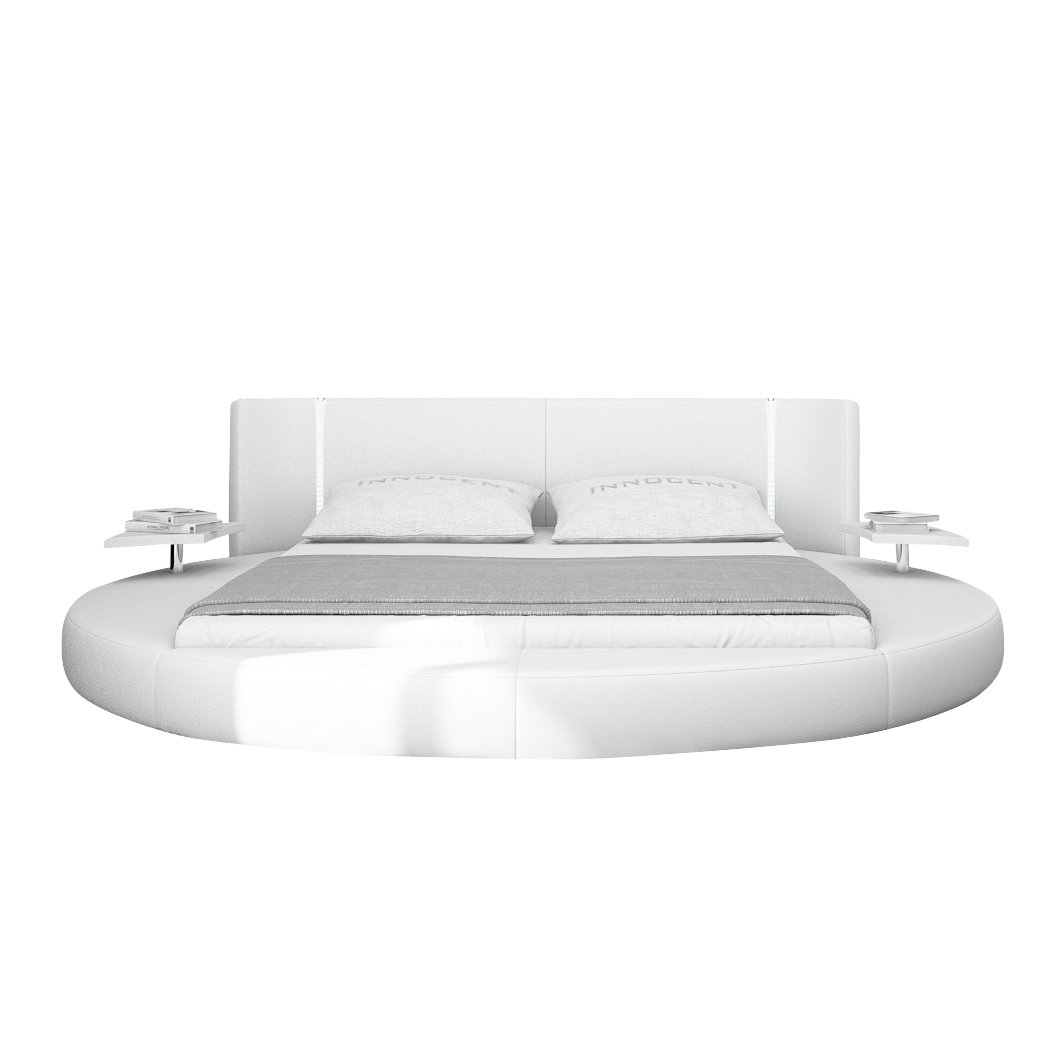 Xxs Möbel Design Bett Mugello 140 X 200 Cm Weiß Inklusive
