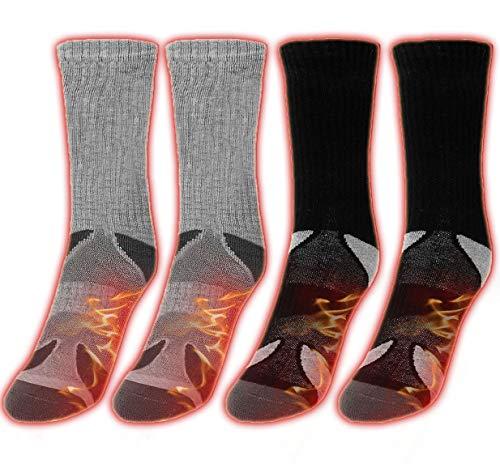 Heated Thermal Winter Socks Men Women