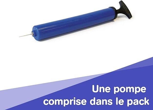 LUDI 2776 Mon Chien Sauteur Bleu Cagnolino Gonfiabile e Cavalcabile, Blu