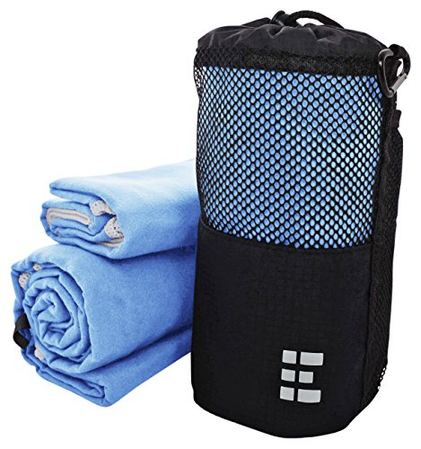 Zero Grid Travel Towel - Quick Dry Microfiber - Backpacking & Camping Set, XL, - Face Nba Shield