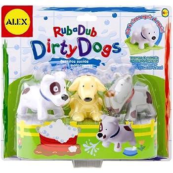 Dirty Dogs Bath Toys