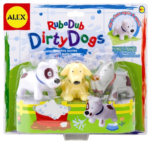 Dirty Dogs Bath Toys