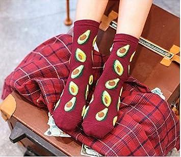 Dasuke Beautiful Fruit Lady Girls sock Cotton 1 Pair