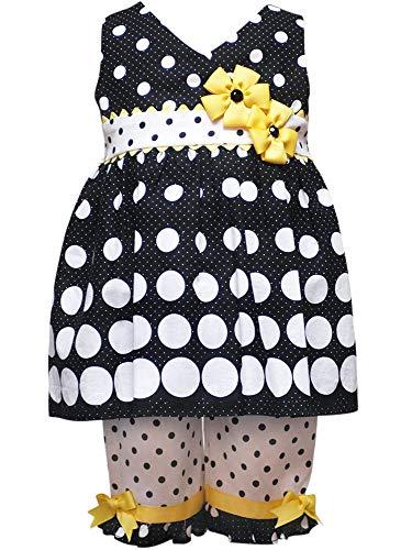 Rare Editions Baby Girls' Gradient Dot Capri