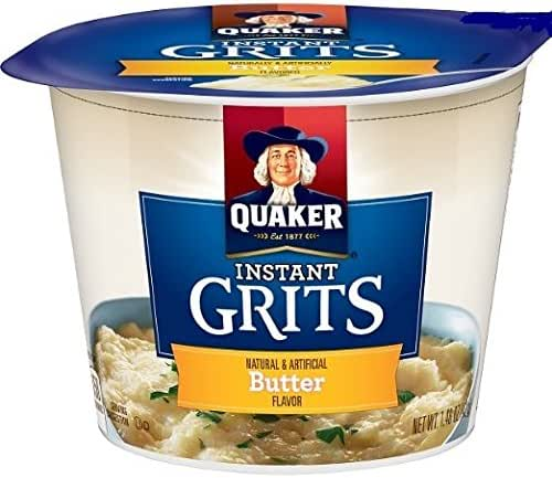 Oatmeal: Quaker Instant Grits Cups