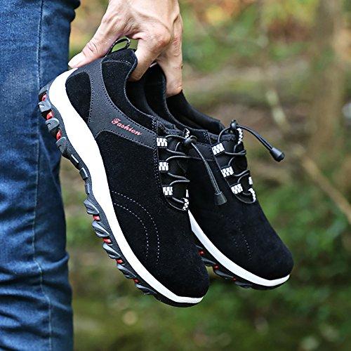 Marche Basses Respirant Randonnée Chaussures De Noir Homme 8RzTxT