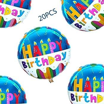 Amazon.com: 50pcs/lot Star Shape Foil Mylar Helium Ballon 18 ...