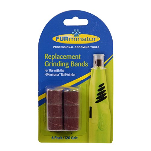 Furminator Nail Grinder Replacement Bands, 2 Packs of 6/Pack