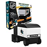 OYO Sportstoys OYOHZASJS Zamboni Machine San Jose Sharks 73 Piece Building Block Set, One Size