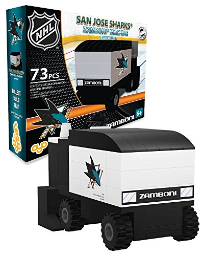 OYO Sports NHL Buildable Zamboni San Jose Sharks
