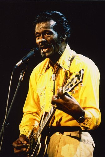 Chuck Berry Mini Poster