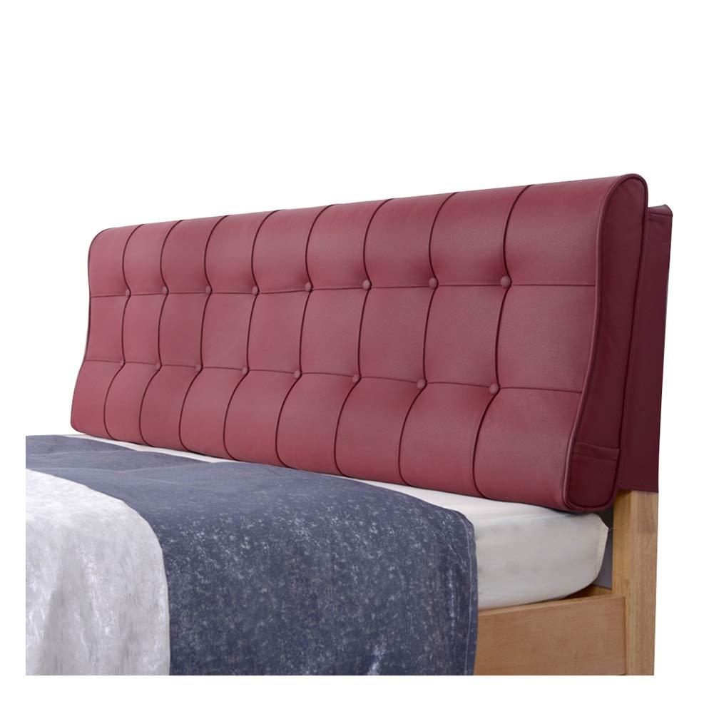 PENGFEI クッションベッドの背もたれ抱き枕 ベッドサイドソフトカバー スポンジ充填 ランバーサポート 宿泊施設、 5色、 7サイズ (色 : A, サイズ さいず : 120CM) B07RKRTGFG A 120CM
