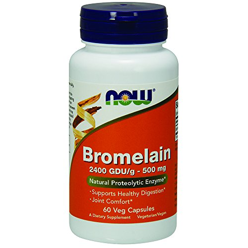 NOW Bromelain 2400 500mg Capsules