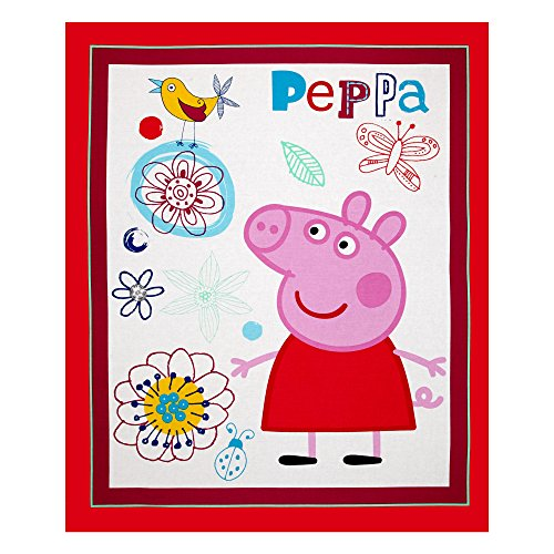 Peppa Pig 36 In. Panel Multi Fabric