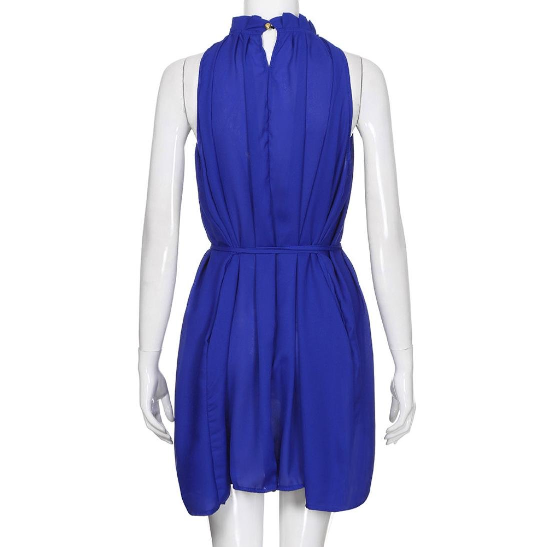 Elegant Dresses,Kstare Womens Summer Dress Sleeveless Chiffon Casual Dress