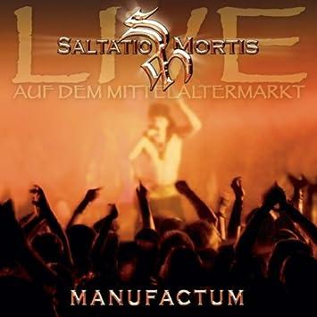 4c977ab84eba2a Manufactum (Live Album) - Saltatio Mortis  Amazon.de  Musik