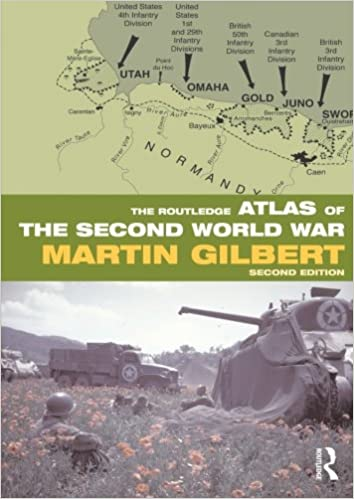 The Routledge Atlas of the Second World War (Routledge Historical Atlases)