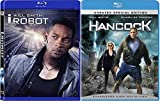 Will Smith Double Feature Hancock + I, Robot (Widescreen Edition) [Blu Ray] (2007) Epic Sci-Fi Bundle 2 Film Set