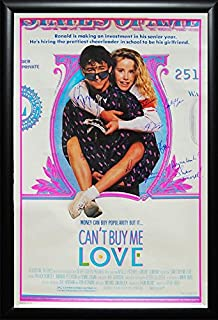 Cant Buy Me Love - Signed Movie Poster