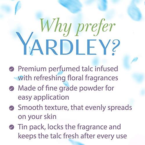 Yardley London Lace Talcum Powder, 250 g