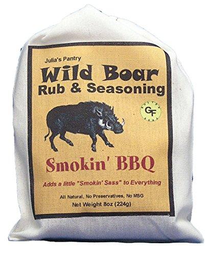 Wild Boar Sassy Smokey BBQ Seasoning & Rub 8oz