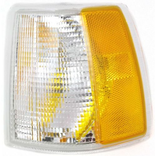 - MAPM - DRIVER SIDE FRONT PARKING/SIGNAL/SIDE MARKER LIGHT ASSEMBLY; WITH - VO2550103 FOR 1993-1997 Volvo 850