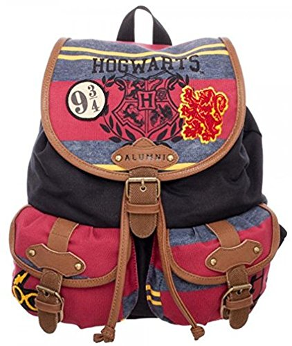 bioWorld Harry Potter Hogwarts Alumni Knapsack Backpack 14 x - Harry Figure Inch 18 Potter