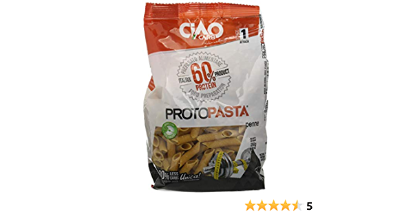 Pasta CiaoCarb Protopasta Fase 1 Penne 250g