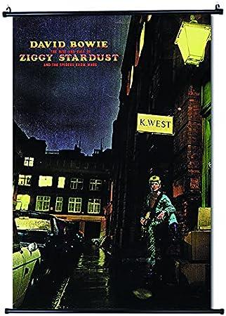 David Bowie Póster de desplazamiento Tamaño 30 x 45 cm (12 x 18 in)