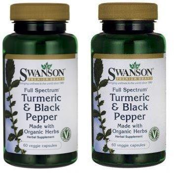 Swanson Premium Spectrum Turmeric Capsules product image