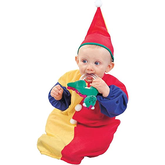 Baby Colorful Clown Halloween Costume  sc 1 st  Amazon.com & Amazon.com: Baby Colorful Clown Halloween Costume: Clothing