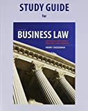 Study Guide for Business Law, Cheeseman, Henry R., 013296998X