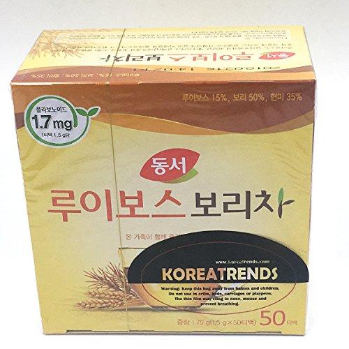 Dongsuh Food Rooibos Roasted Barley Tea 75g (1.5 g x 50 bags) by Dongsuh Food (Image #3)