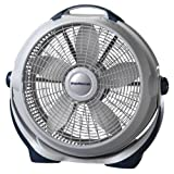 Lasko 3300 20? Wind Machine Fan With 3 Energy-Efficient Speeds - Features Pivoting Head for Directional Air Flow