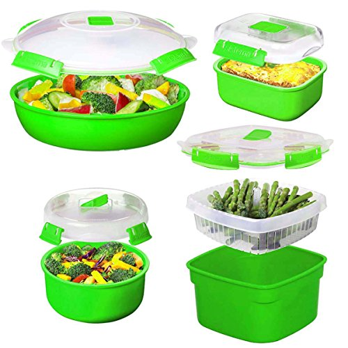 ave Cookware & Food Storage Container Set With Lids, Reusable ()