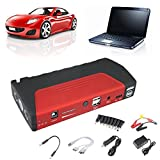 AUDEW 18000mAh Multi-function Vehicle Car Jump Starter Portable Car Jump Starter Pack LED Booster Charger