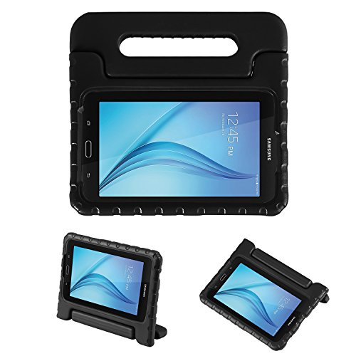 NEWSTYLE Tab E Lite 7.0 & Tab 3 Lite 7.0 Kids Case - Shockproof Light Weight Protection Handle Stand Kids Case for Samsung Galaxy Tab E Lite 7.0 Inch 2016 & Tab 3 Lite 7.0 Tablet (Black)