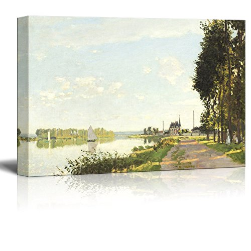 Famous Painting of Argenteuilby Claude Monet