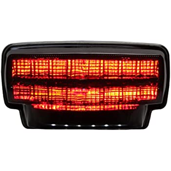Amazon.com: Integrated Sequential LED Tail Lights Smoke Lens ...