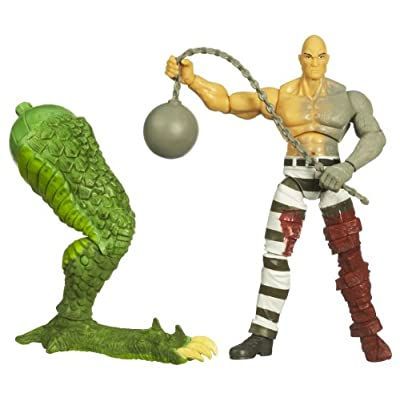 INCREDIBLE HULK LEGENDS BUILD A FIGURE - ABSORBING MAN: Toys & Games