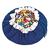 Best LEGO Camping Toys - Play&Go Large Children Drawstring Play Mat and Toy Review