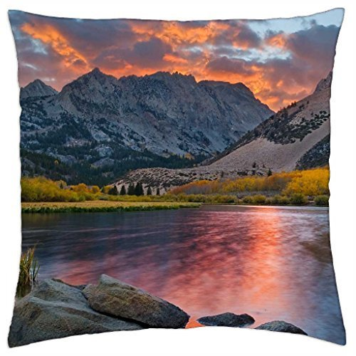 magnificent natural landscape - Throw Pillow Cover Case (18