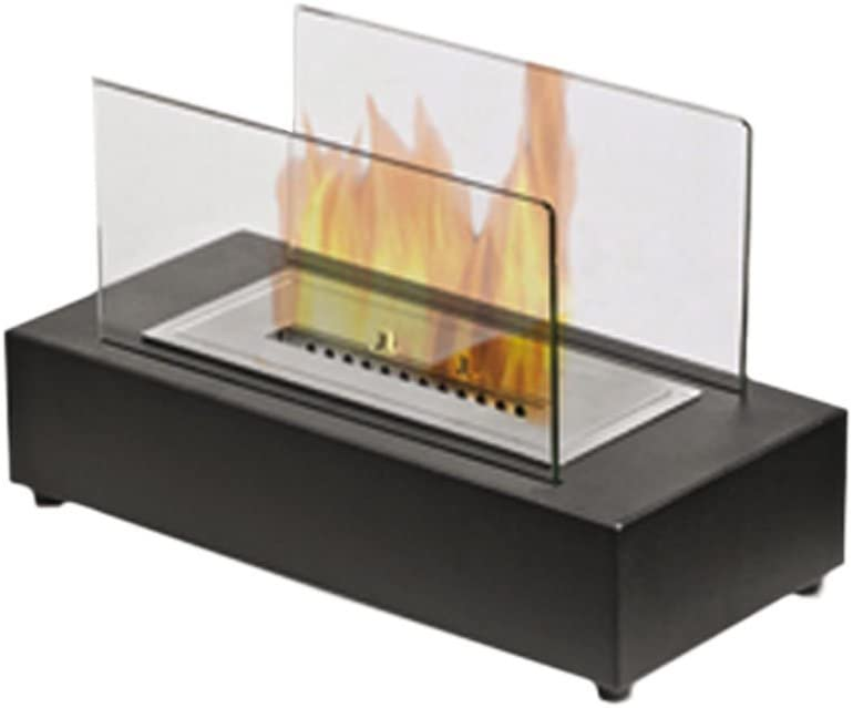 GMR 00124 - Chimenea de bioetanol para mesa (cristal, 3,5 kW ...