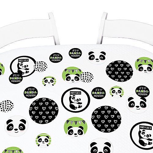 Big Dot of Happiness Party Like a Panda Bear - Baby Shower or Birthday Party Giant Circle Confetti - Party Decorations - Large Confetti 27 Count for $<!--$9.99-->