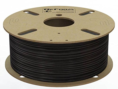 Formfutura 1.75mm ReForm - rTitan - 3D Printer Filament-Black 175RTITAN-BLCK-1000