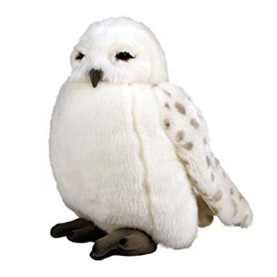 "Wizarding World of Harry Potter Hedwig Owl 11"" Plush Doll Puppet with Sound: Toys & Games"