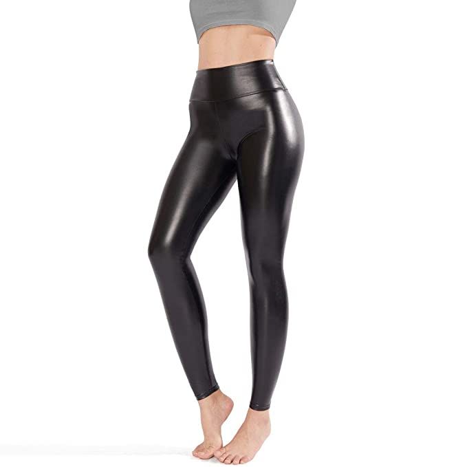b25c143155590 Tagoo Faux Leather Leggings for Women, Black Leather Pants Women High  Waisted: Amazon.ca: Clothing & Accessories