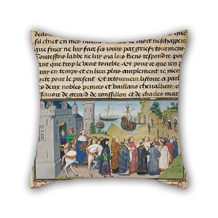 Amazon.com: Pillowcover Of Oil Painting Loyset Li??det ...