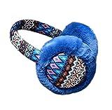 PANDA SUPERSTORE Winter Ear Protector Fur Earmuffs Earcap Wave Ear Warmer